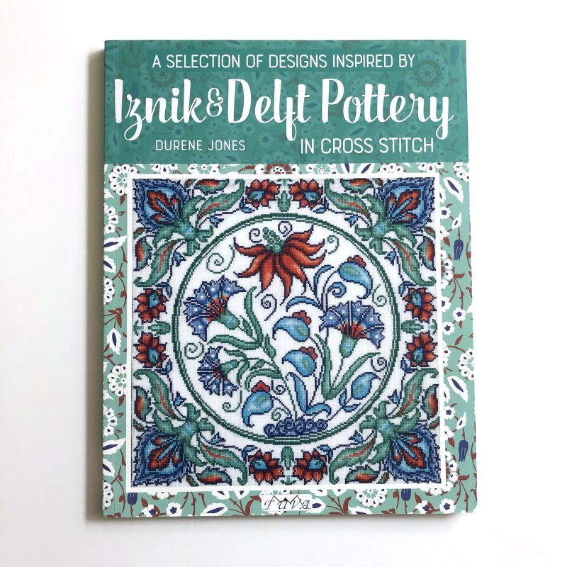 Iznik and Deflt Pottery in Cross Stitch book