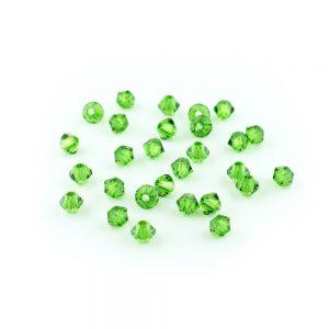 3mm Fern Green Swarovski Xilion Bead
