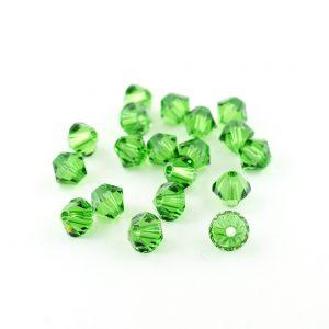 5mm Fern Green Swarovski Xilion Bead