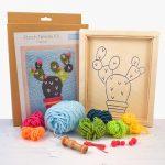Cactus Punch Needle Kit