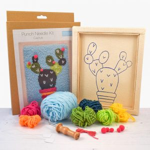 Cactus Punch Needle Kit