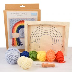 Rainbow Punch needle kit