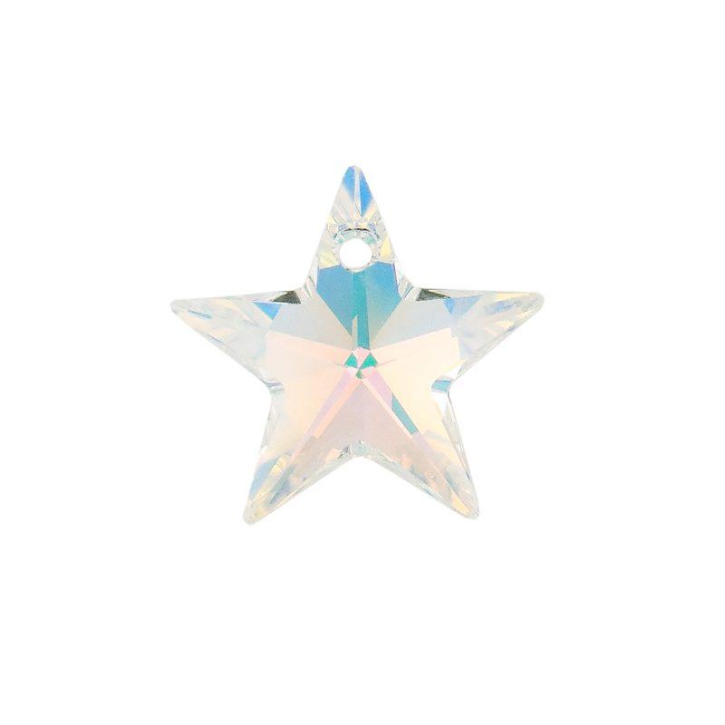 Swarovski Crystal AB Star Pendant