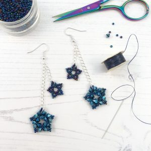 Virtual Workshop - Star Party Earrings