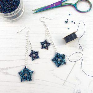 Virtual Workshop - Star Party Earrings