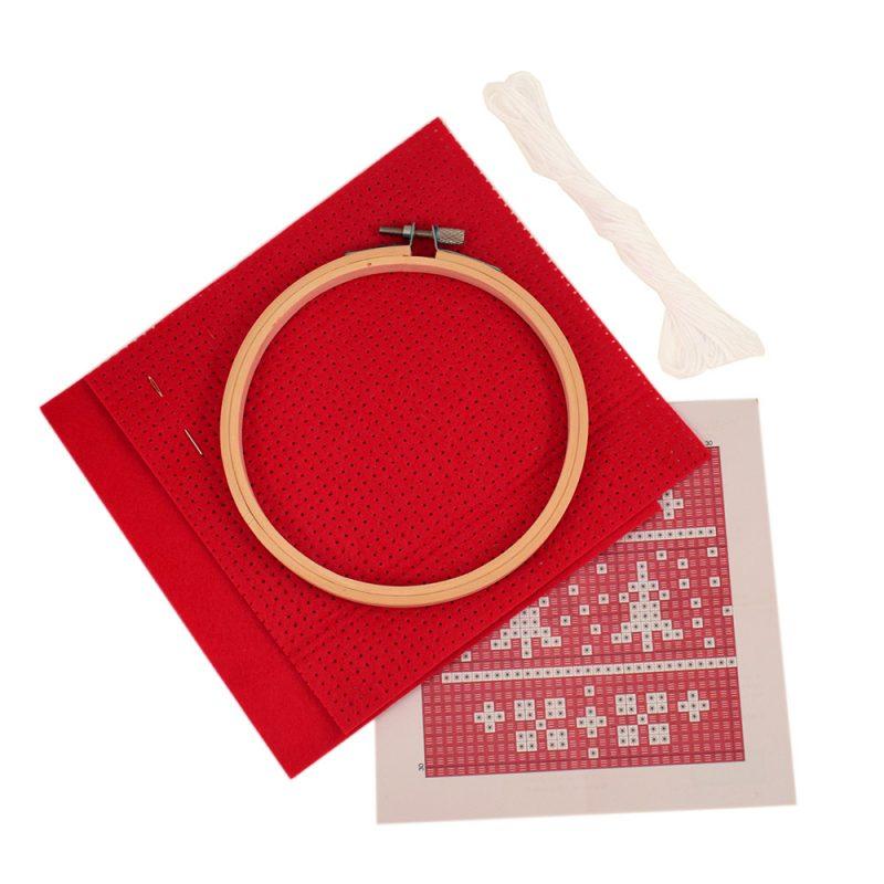 felt cross stitch kit