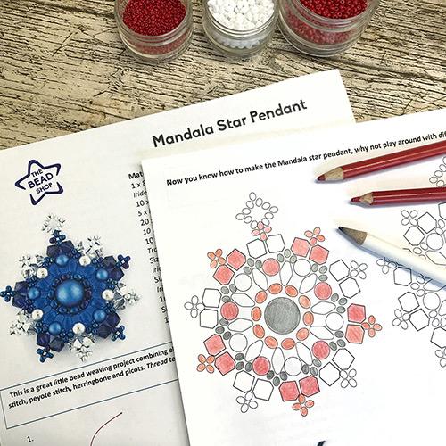 Festive Star Mandala