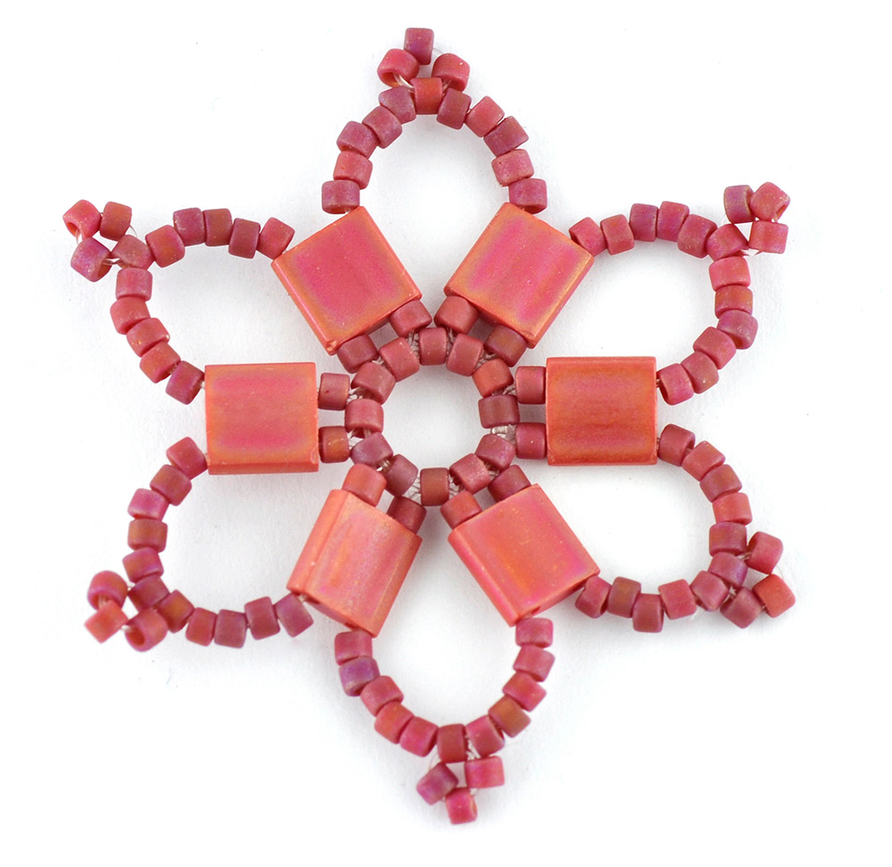Tila Bead Star Decoration