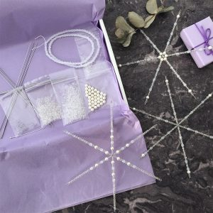 Wire Snowflake Decoration Kit