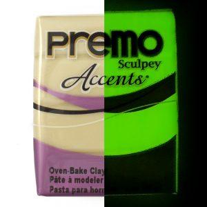 Premo! Sculpey Accents Glow In The Dark