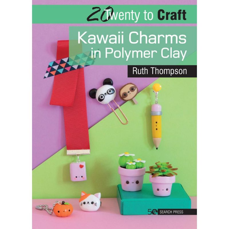 Kawaii Charms In Polymer Clay by Ruth Thompson