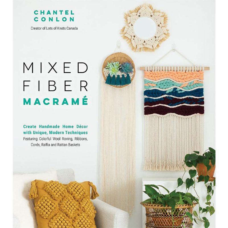 Mixed Fiber Macrame by Chantel Conlon