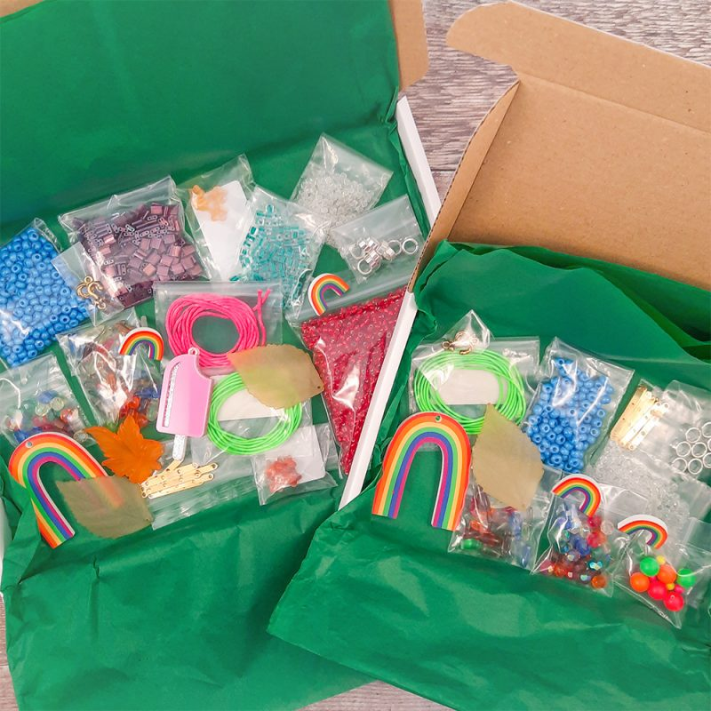 Mystery Sale box vintage rainbow mix