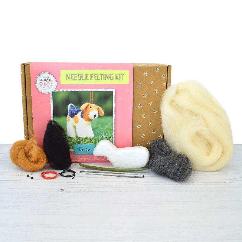 Terrier Needle Felting Kit