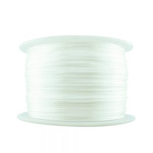 1mm white satin cord