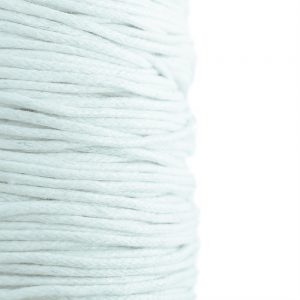 1mm white wax cotton cord