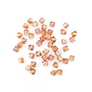 4mm copper swarovski crystal xilion