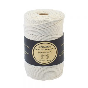 Nutscene macrame cord 85mm natural