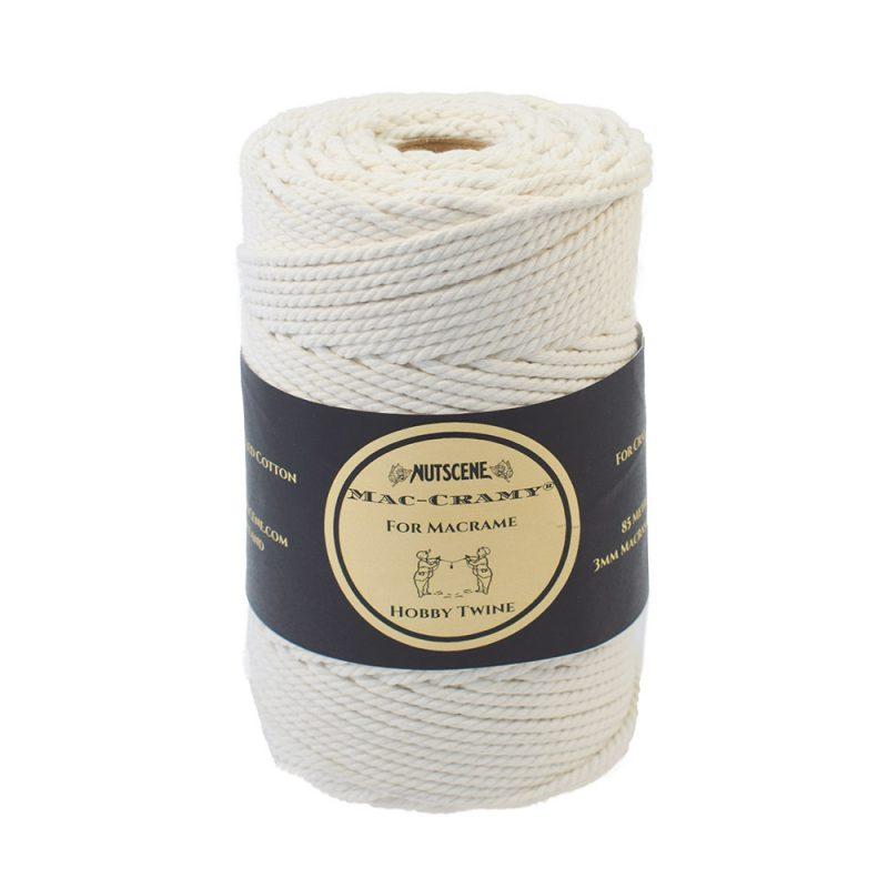 Nutscene macrame cord 85mm natural