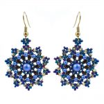 Mini Mandala Earrings Kit - Blue