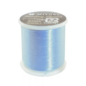 miyuki beading thread blue 10