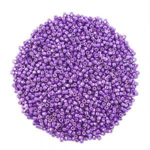 miyuki delica DB2508 duracoat galvanised purple orchid