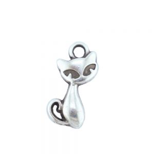 antique-silver-cat-charm