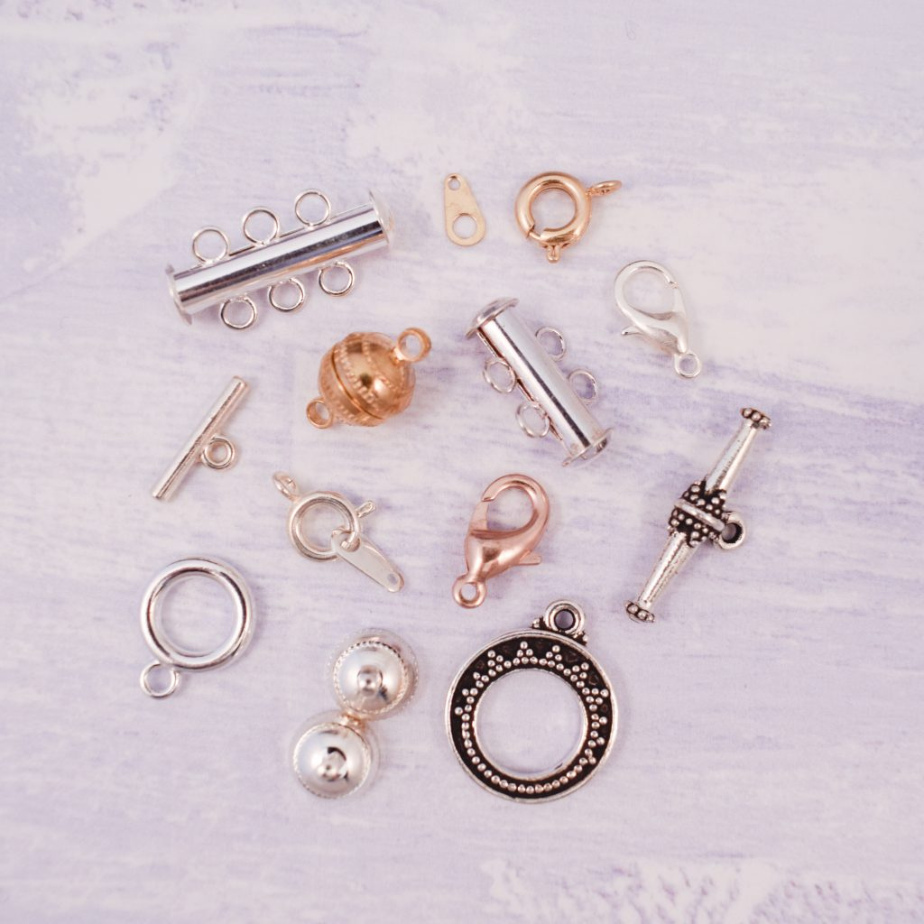 selection of clasps