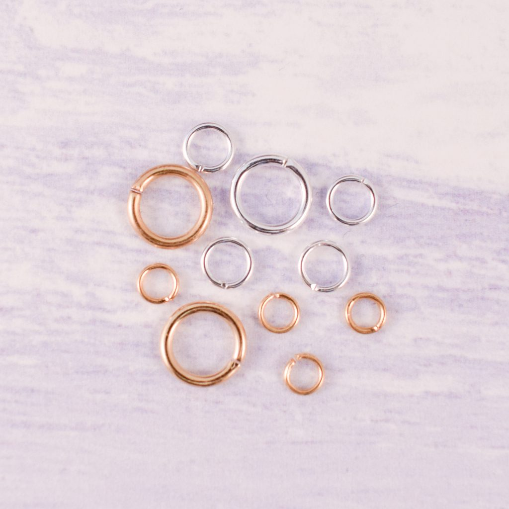 selection of jump rings