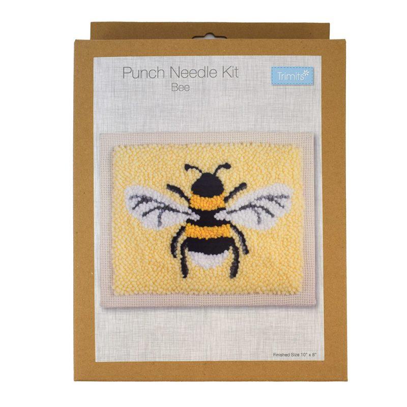 bee punch needle kit box