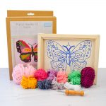punch needle butterfly kit