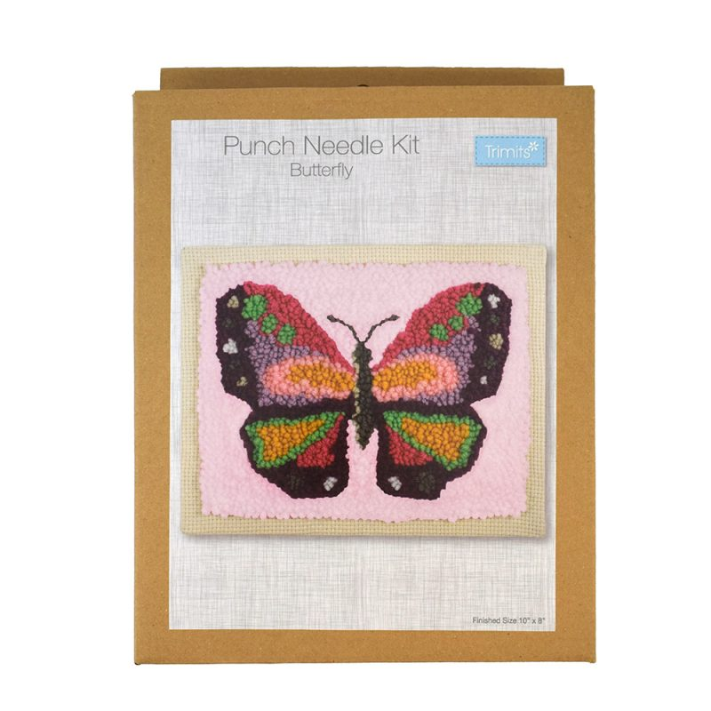 butterfly punch needle kit box