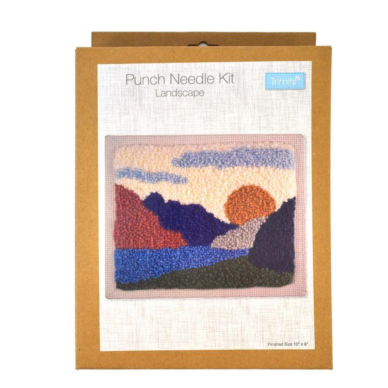 landscape punch needle kit box