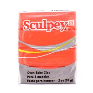 Sculpey III Poppy