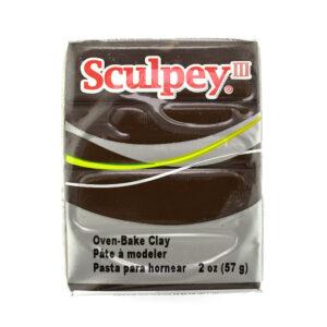 Sculpey III suede brown