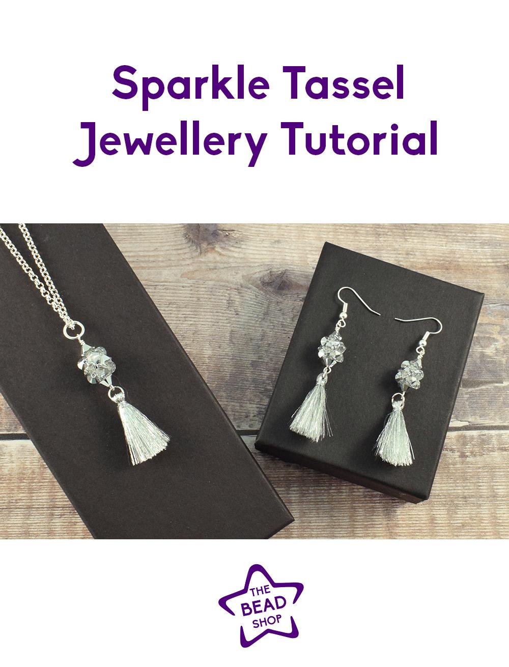 Sparkle Tassel Jewellery