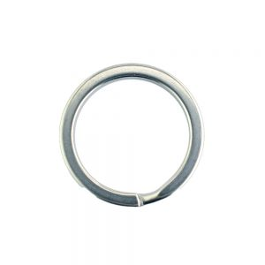 25mm surgical steel split ring
