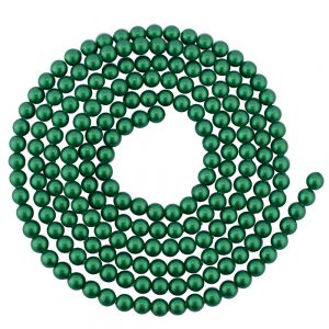 swarovski 3mm pearls eden green