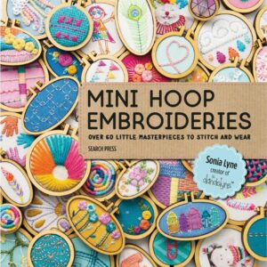 Mini Hoop Embroideries by Sonia Lyne