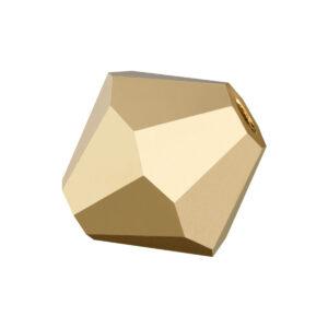 Aurum 2x Preciosa crystal bicone bead