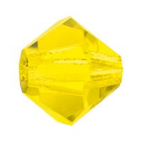 Citrine Preciosa crystal bicone bead
