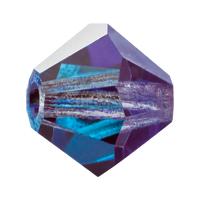 Burmunda Blue Preciosa crystal bicone bead