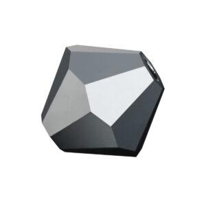 Jet Hematite Preciosa crystal bicone bead