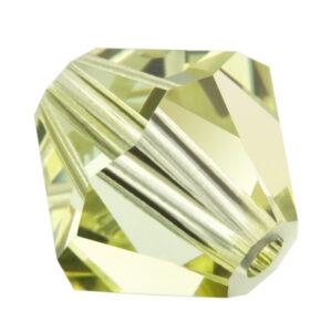 Jonquil Preciosa crystal bicone bead