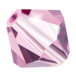 Light Amethyst Preciosa crystal bicone bead