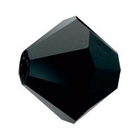 Jet Preciosa crystal bicone bead