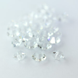 3x5mm crystal preciosa crystal spacer bead