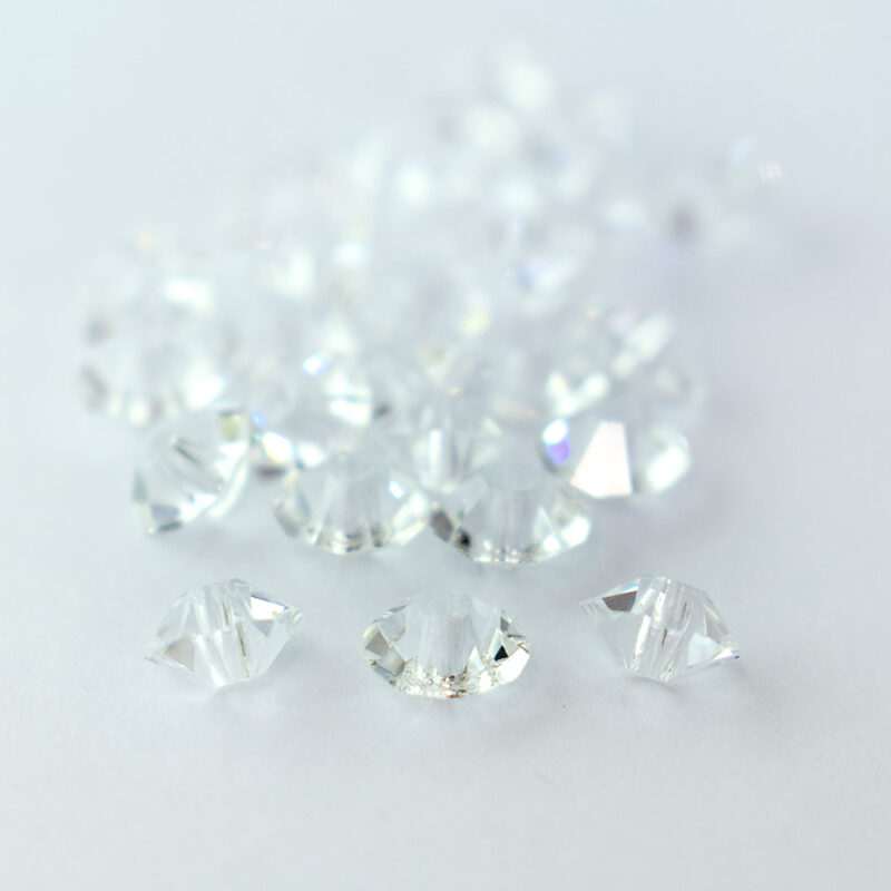 3x5mm crystal preciosa crystal spacer bead