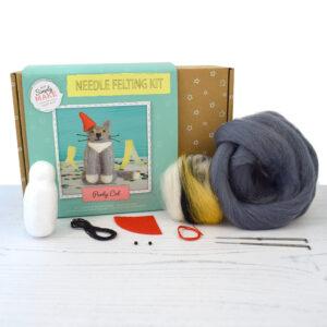 party cat needle felt kit contents