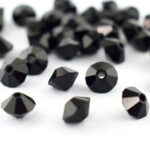 Preciosa Crystal Spacer beads jet